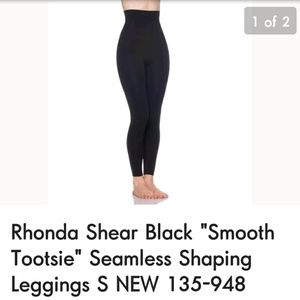 Rhonda Shear Smooth Footsie Leggings